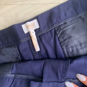 Laundry By Shelli Segal Shorts - Laundry by Shelly Segal navy capris size 14